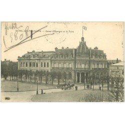 carte postale ancienne 51 VITRY-LE-FRANCOIS. Caisse Epargne et Poste
