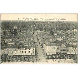 carte postale ancienne 51 VITRY-LE-FRANCOIS. Vue 1917