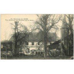 carte postale ancienne 42 BOEN. Château de la Bâtie
