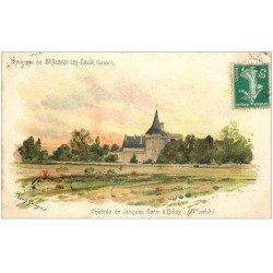 carte postale ancienne 42 BOISSY. Château de Jacques Coeur 1910 par Tauzin