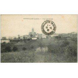 carte postale ancienne 42 CORDELLES. Vue générale 1932