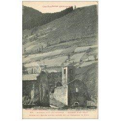 carte postale ancienne 09 MERENS. Ruines de l'Eglise