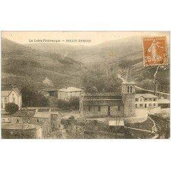 carte postale ancienne 42 MOULINS-CHERIER. 1928