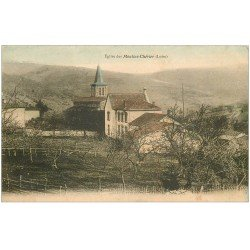 carte postale ancienne 42 MOULINS-CHERIER. Eglise