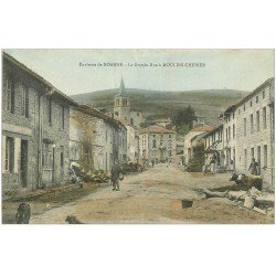 carte postale ancienne 42 MOULINS-CHERIER. Grande Rue
