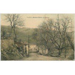 carte postale ancienne 42 MOULINS-CHERIER. Une Rue