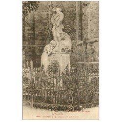 carte postale ancienne 09 MIREPOIX. Le Monument aux Morts