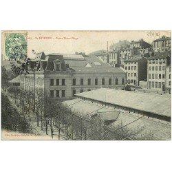 carte postale ancienne 42 SAINT-ETIENNE. Cours Victor-Hugo 1907