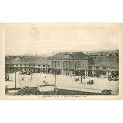 carte postale ancienne 42 SAINT-ETIENNE. Gare de Châteaucreux