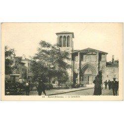 carte postale ancienne 42 SAINT-ETIENNE. La Cathédrale