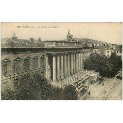 carte postale ancienne 42 SAINT-ETIENNE. Le Palais de Justice 1929