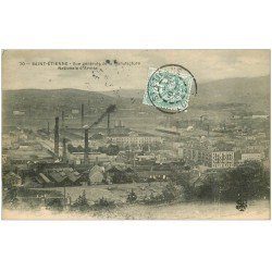 carte postale ancienne 42 SAINT-ETIENNE. Manufacture Nationale d'Armes 1906