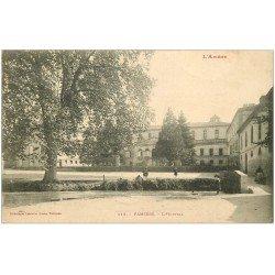 carte postale ancienne 09 PAMIERS. L'Hôpital 1905