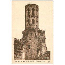 carte postale ancienne 09 PAMIERS. Tour Eglise des Cordeliers