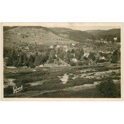 carte postale ancienne 43 AUREC. Presb et les Hiverts. Carte Photo