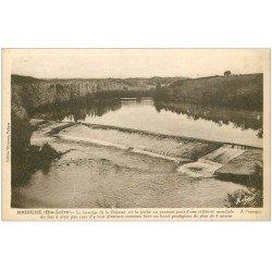 carte postale ancienne 43 BRIOUDE. Barrage de la Bajasse