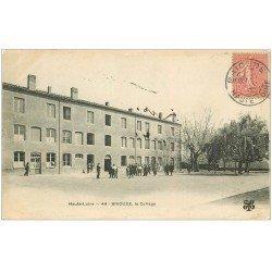 carte postale ancienne 43 BRIOUDE. Le Collège 1906