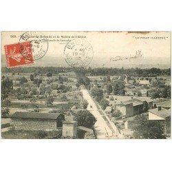 carte postale ancienne 43 BRIOUDE. Plaine et Vallée de l'Allier 1914