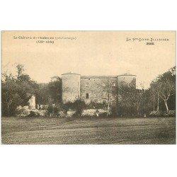carte postale ancienne 43 CHATEAU DE CHABANNE 1917