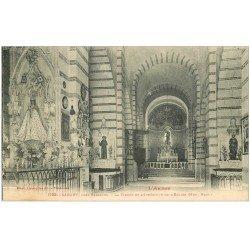 carte postale ancienne 09 SABART. La Vierge de l'Eglise