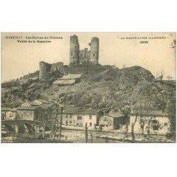 carte postale ancienne 43 DOMEYRAT. Château Vallée Senouire 1918