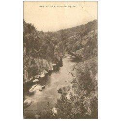 carte postale ancienne 43 GRAZAC Le Lignon 1925