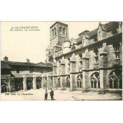 carte postale ancienne 43 LA CHAISE-DIEU. Cloîtres