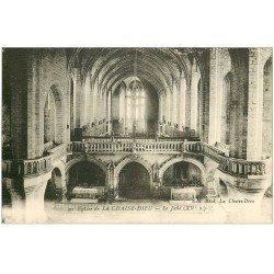 carte postale ancienne 43 LA CHAISE-DIEU. Jubé
