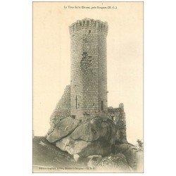 carte postale ancienne 43 LA TOUR DE CLAUZE 1906