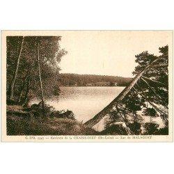 carte postale ancienne 43 LAC DE MALAGUET