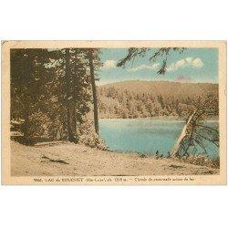 carte postale ancienne 43 LAC DU BOUCHET 1947