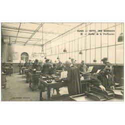 carte postale ancienne 75 PARIS 06. Hôtel des Monnaies. Atelier de vérification