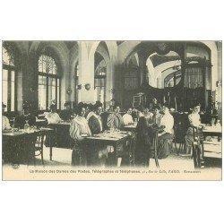 carte postale ancienne 75 PARIS 07. Maison Dames des Postes, Télégraphes et Téléphones. Restaurant 41 rue de Lille