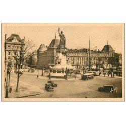 PARIS 10. Place de la République et Magasins Réunis