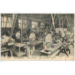 carte postale ancienne 75 PARIS 11. Ecole Dorian Avenue Philippe Auguste. Ateliers des Tours. Apprentissages et Métiers