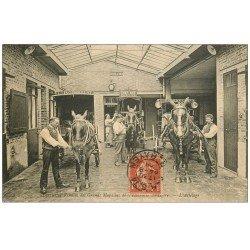 PARIS 17. L'Attelage 1908. Ecuries et Remises des Grands Magasins Econome Ménagère. Avenues Niel et Ternes