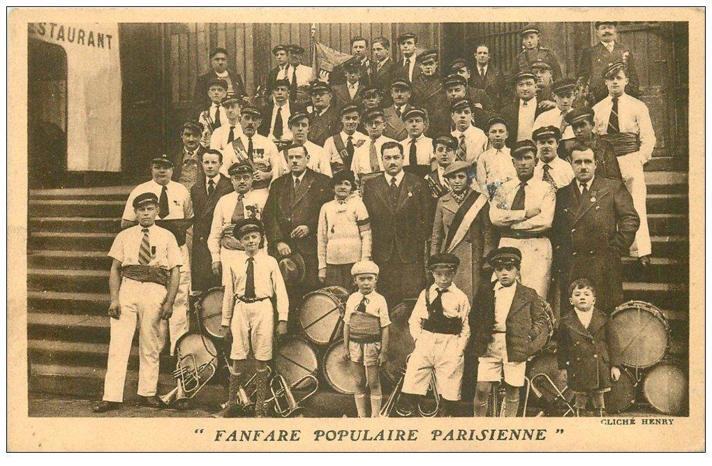 PARIS. Fanfare Populaire Parisienne