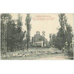 carte postale ancienne 09 SORGEAT. L'Eglise