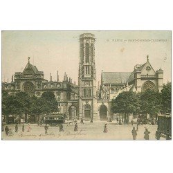 carte postale ancienne PARIS 01. Eglise Saint-Germain-l'Auxerrois 1904