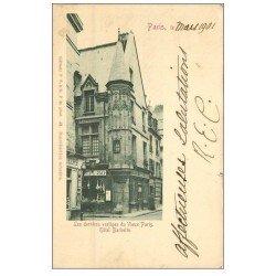 PARIS 03. Hôtel Barbette 1901