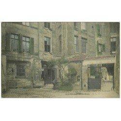 carte postale ancienne PARIS 03. Puits de Poitiers Cour du Jardinet
