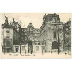 carte postale ancienne PARIS 04. Ecole Massillon 1553