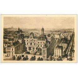 carte postale ancienne PARIS 04. Ecole Massillon Quai Célestins. Avant la Chapelle