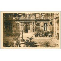 carte postale ancienne PARIS 04. Ecole Massillon Quai Célestins. Entrée