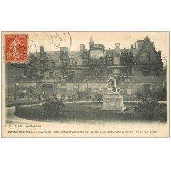 carte postale ancienne PARIS 04. Hôtel Cluny 1908