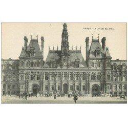 carte postale ancienne PARIS 04. Hôtel de Ville