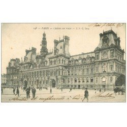 PARIS 04. Hôtel de Ville 1903