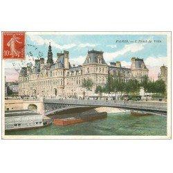PARIS 04. Hôtel de Ville 1909