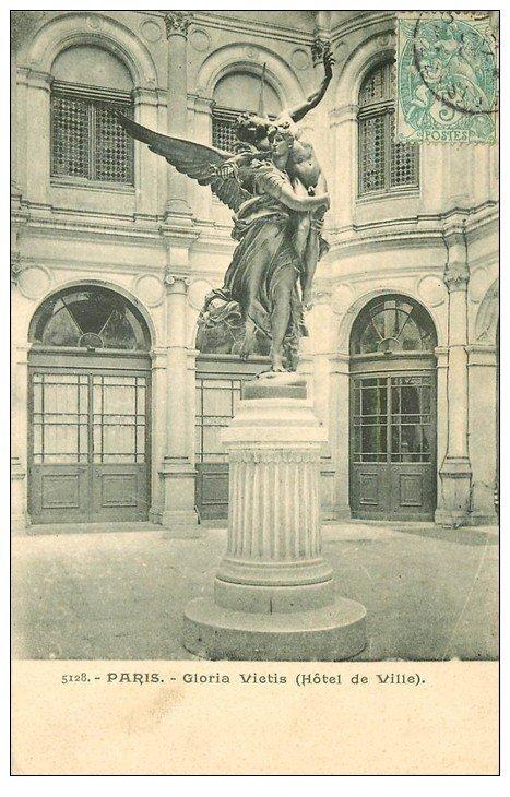 PARIS 04. Hôtel de Ville Gloria Vietis 1905