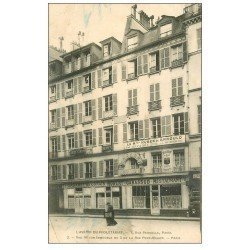 PARIS 04. L'Avenir du Prolétariat 8 rue Pernelle. Cabaret Lyonnais Restaurant